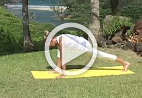 Yoga Runner's Stretch Pose
